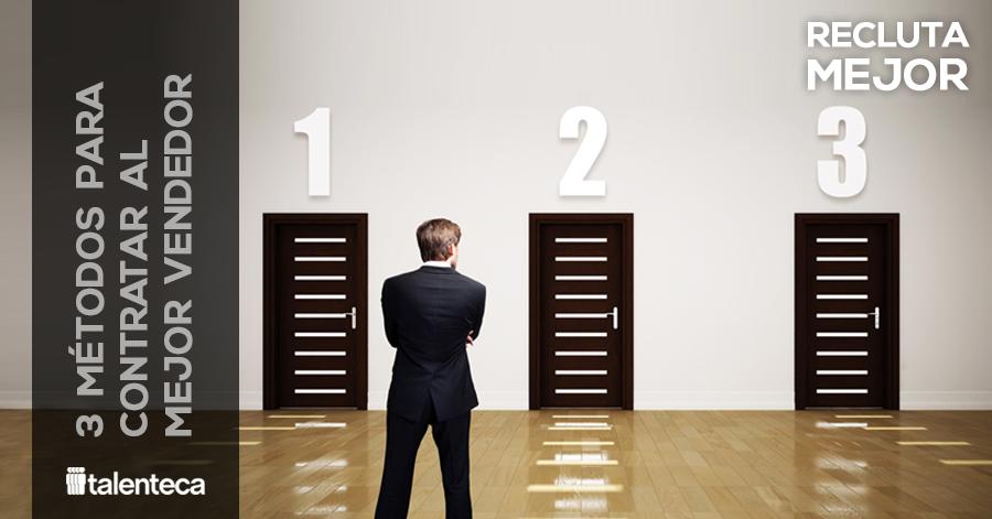 metodos para contratar personal de ventas