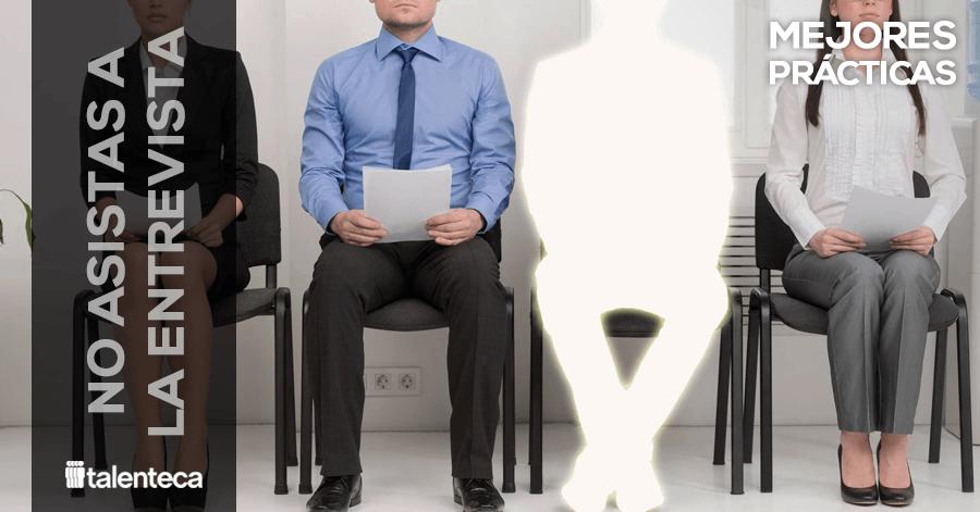 No asistas a la entrevista-persona brilla por su ausencia e entrevista de trabajo